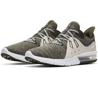 Nike AIR MAX Sequent 3 Homme Chaussures De Course 921694 300 UK 8.5 EU 43 SEQUOIAOS | eBay