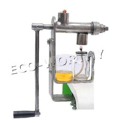 Hand Operated Oil Press Oil Expeller Peanut Seed DIY Pressing Green Pure Oil