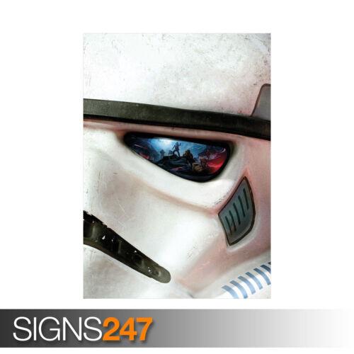 Star Wars Battlefront jeu Stormtrooper 1129 affiche d/'impression d/'art A0 A1 A2 A3 A4