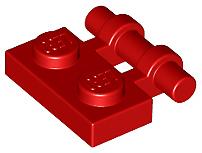 Lego 2540 Placa modificado 1 X 2 con mango en lado extremos Elige Color Gratis Nuevo