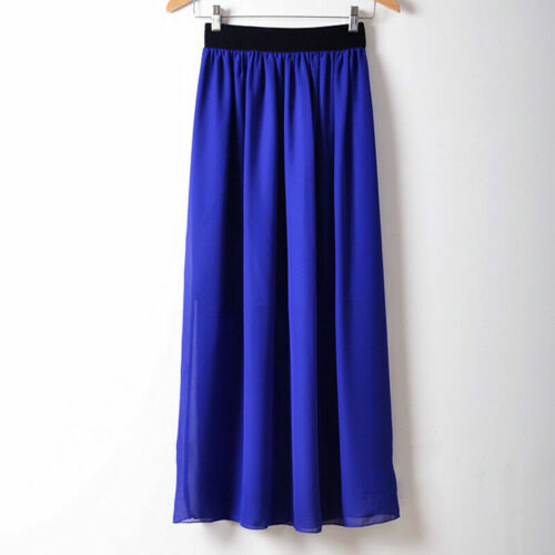 Ladies Summer Maxi Dress Size 8-16 Womens New Evening//Cocktail//Party Long Skirt