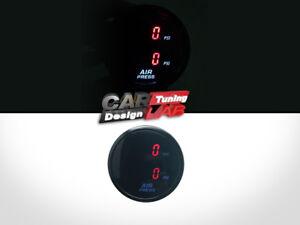 52mm-Dual-Air-Pressure-Gauge-RED-LED-endless-Viair-ARB-board-suspension-PSI