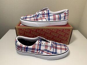 Vans Era Plaid Sneaker Size US 10 Man