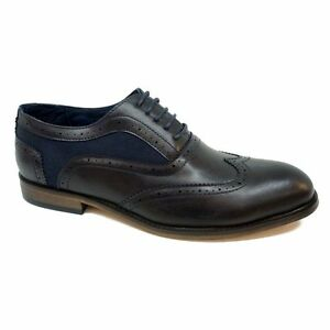 Men-039-s-Shoes-Low-Shoes-Black-or-Black-Blue-Real-Leather-Budapest-Type