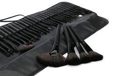 32pcs Black Pro Pouch Bag Case Superior Soft Cosmetic Makeup Brush Set Kit USA