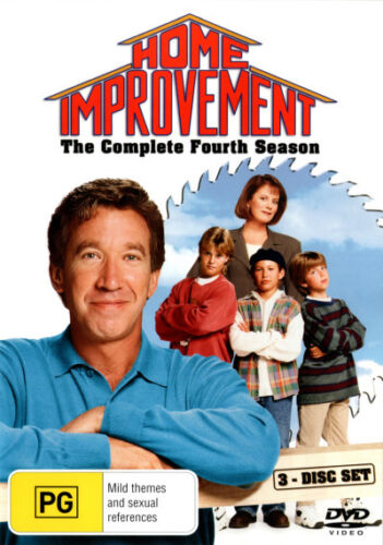 1 of 1 - Home Improvement: Season 4 (3 Discs)  - DVD - NEW Region 4