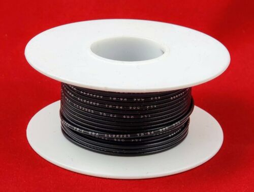 22 AWG UL1007 UL1569 WHITE Hook-up Wire 100 foot spools ~ 10 Colors Available!