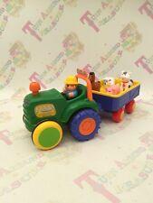 Kiddieland Viejo Macdonald mover Tractor & Remolque Animales canciones suena muy divertido