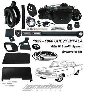 Vintage    Air    1959    1960    Impala w4 Lever Control    Air