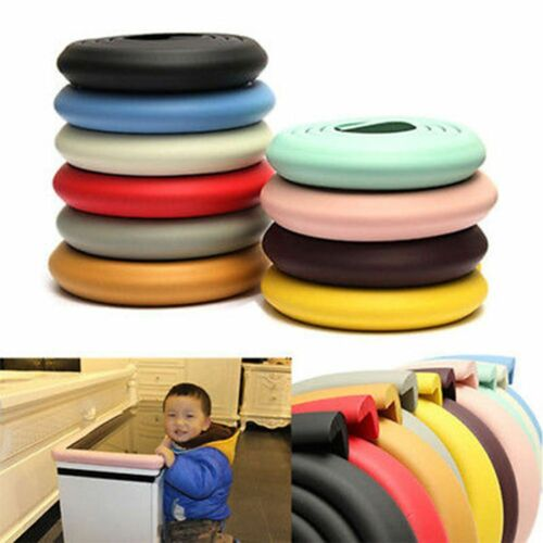 1x 2M Baby Table Edge Eckenschutz Protector Foam Bumper Stoßkissenstreifen