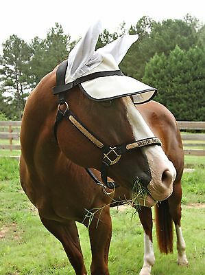 Horse Sun Visor with ears! Horse UV protection, equine sun, cute trail  riding! | eBay