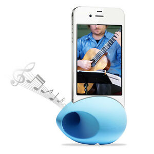 Cirago-Blue-iPhone-NuSound-Pod-Sound-Speaker-Amplifier-for-iPhone-5s-5c-5-4s-4