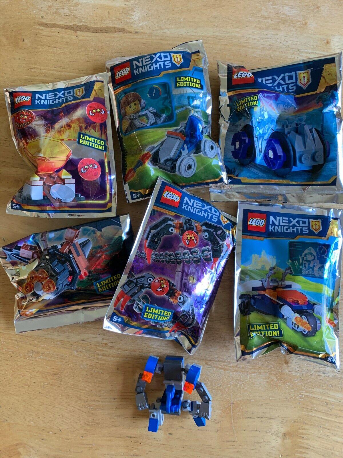HUC REAL LEGO NEXO KNIGHTS 20 MAGAZINE PACKETS PACKETS PACKETS MINIFIGURES & EXTRA MERLOCK 2.0 d8124d