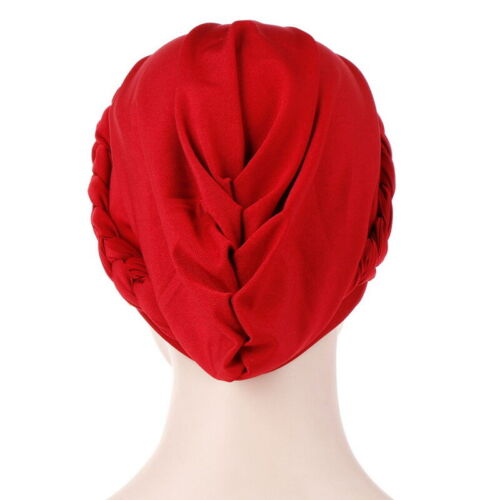 Turban Haarband Haarschmuck Kopfbedeckung Chemo Mütze Frauen Hut Tuch Kopftuch