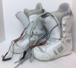 Burton Coco Snowboard Boots Imprint 1 Trufit Women S Size 7 White Ebay