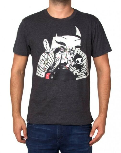 NEW Official Tokidoki TKDK Unmaker Men/'s Black Tee T-Shirt CMTE04185 US Seller