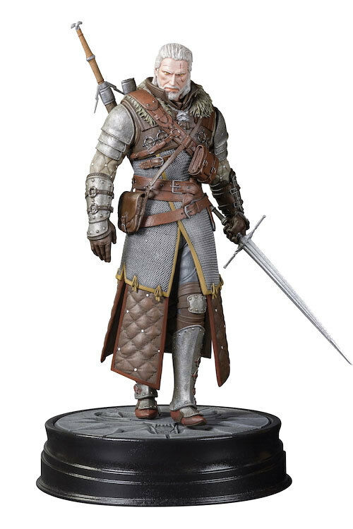 FIGURE THE WITCHER 24 CM 2 3 WILD HUNT GERALT OF RIVIA GRANDMASTER URSINE STATUE
