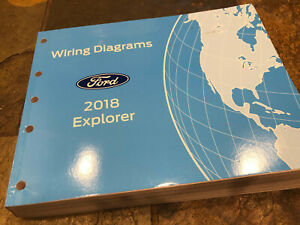 ford explorer wire diagram 2018 ford explorer wiring diagrams electrical service manual ebay ford explorer wiring diagram free 2018 ford explorer wiring diagrams