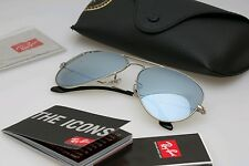 New RayBan Aviator Sunglasses polarize blue color Mirror58mm r3025