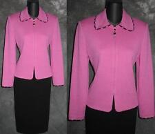 BEAUTIFUL St John collection jacket knit suit blazer size 2