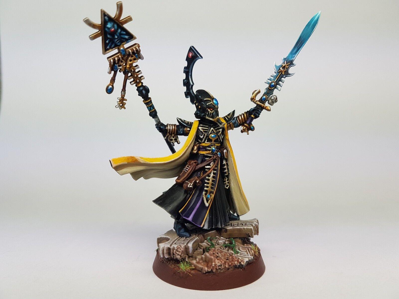 Warhammer 40K Eldar-Phoenix Lord Eldrad ulthran  Commission pour comhommeder  offre spéciale