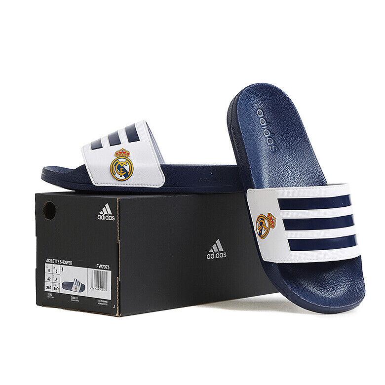 túnel litro inversión  adidas Real Madrid Slide AQ3795 Slides Sports Sandal Slippers Flip Flops US  8 (265 Mm) for sale online | eBay