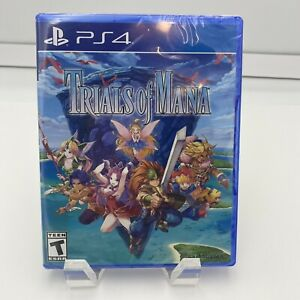 Trials of Mana PS4 PlayStation 4 Brand New Factory sealed