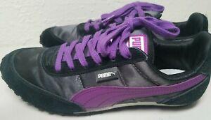 Puma Black and Purple Sport Lifestyle