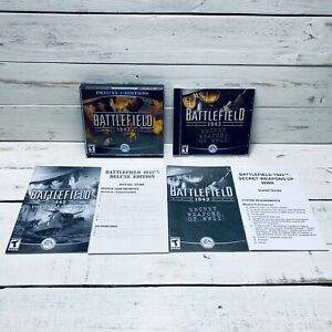 Battlefield 1942 Deluxe Edition + Secret Weapons Of WWII Expansion Pack PC Games