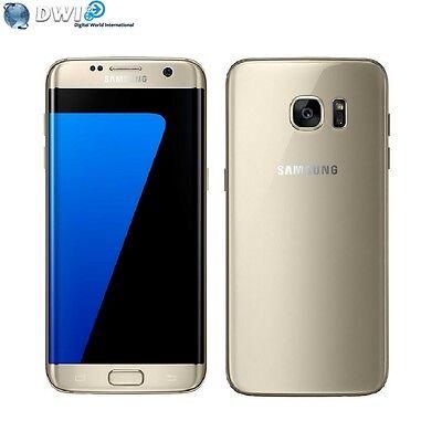 NEUF SAMSUNG GALAXY S7 EDGE G935FD 32GB DUAL SIM 4G LTE UNLOCKED OR GOLD