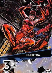 ELEKTRA-Marvel-3D-Upper-Deck-2015-BASE-Trading-Card-46