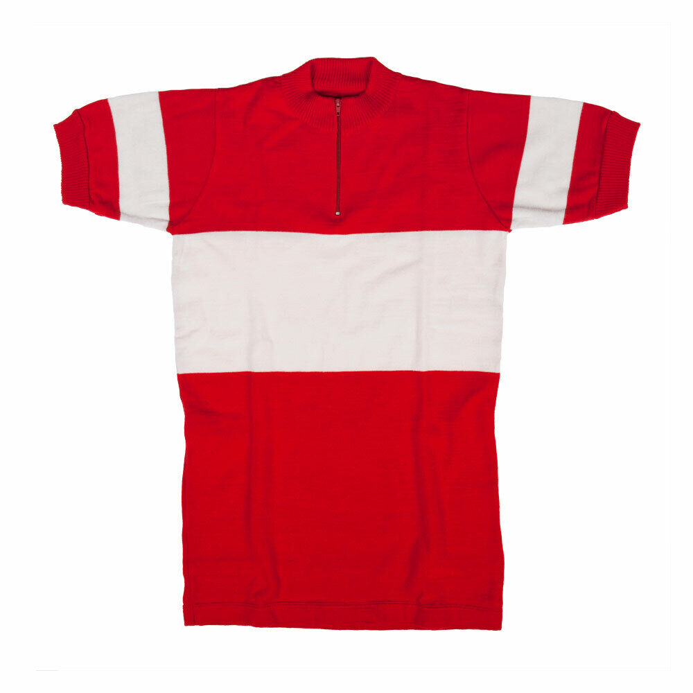 MAGLIA GALIBIER Ciclismo Vintage Cycle Bike Jersey Made in Italië
