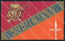 Militari VII Reggimento Bersaglieri cartolina XF1450