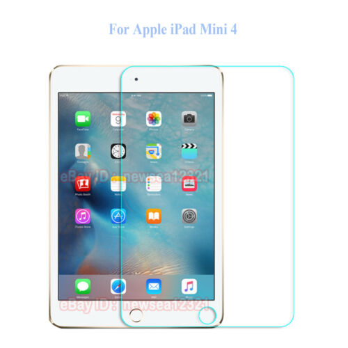 Tempered Glass Screen Cover Guard Shield Case For Apple iPad Tablet PC Computer