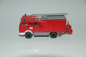 Wiking-Fire-Brigade-1-87-H0-Mercedes-Benz-Trolley-Utility-Top-Condition-4