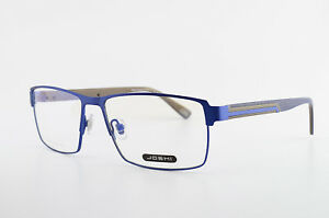 JOSHI-Brille-Mod-551-Col-3-57-15-140-Stainless-Steel-Eyeglasses-Frame-Blue