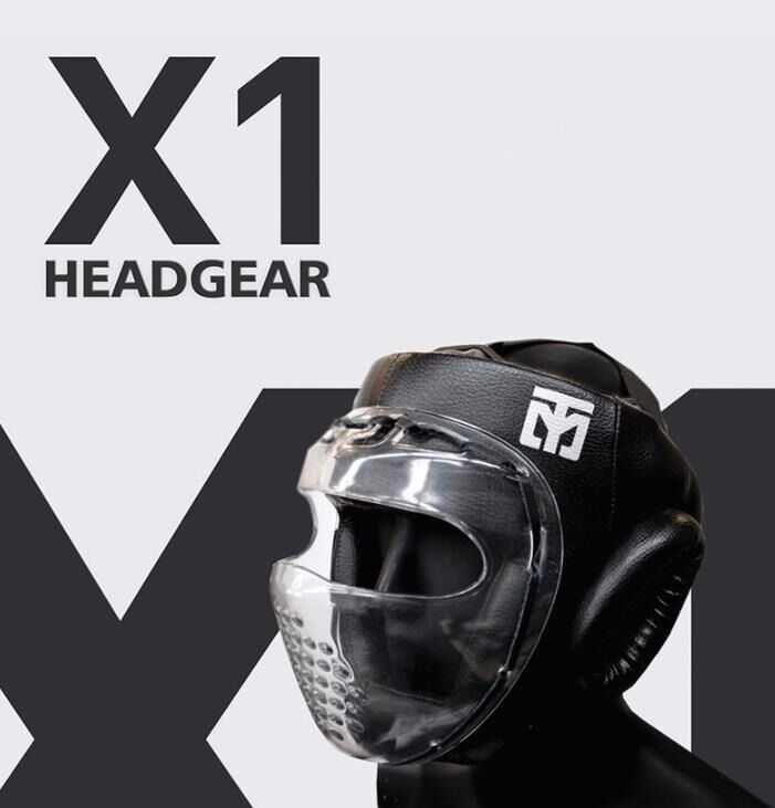 Head Gear predector gear Mooto X1 Headgear Korean TAEKWONDO Boxing Martial Arts