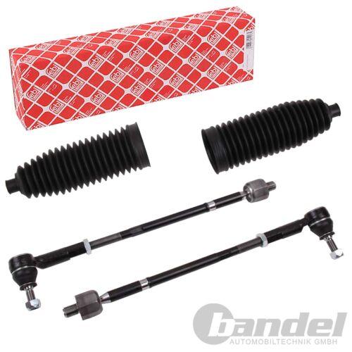 2x FEBI Rod complet lenkmanschette Li re Vw Polo 6n1 Seat Arosa