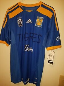 Image is loading ADIDAS-TIGRES-UANL-AWAY-JERSEY-2014-15 8d0ccd28c