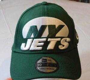 New Era NFL 39Thirty New York Jets Green 20395293 Mens Hat cap Small ... 14e3a383a