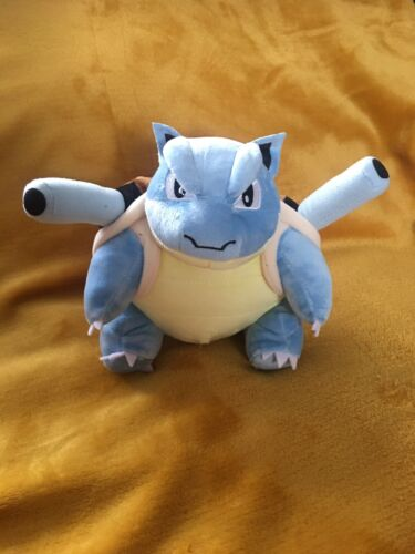 """BRAND NEW 20cm Plush Soft Toy Teddy Pokemon Blastoise 8"""""""