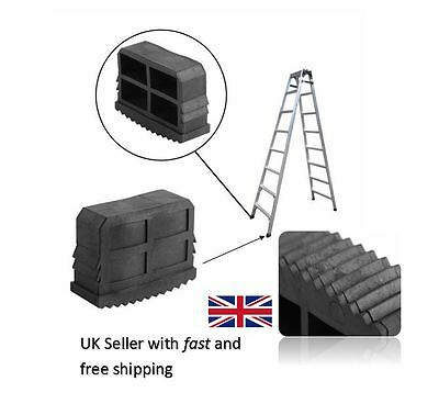 PAIR OF 40MM X 20MM REPLACEMENT LADDER STEP LADDER FEET