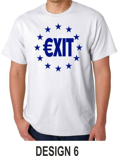Brexit Leave EU T Shirt EU Exit No Campaign Leave EU Referendum Euro Out