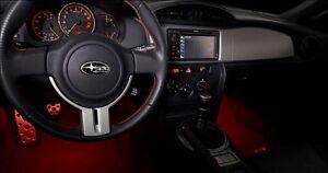 Genuine Oem 2013 2019 Subaru Brz Red Interior Illumination Kit Ebay
