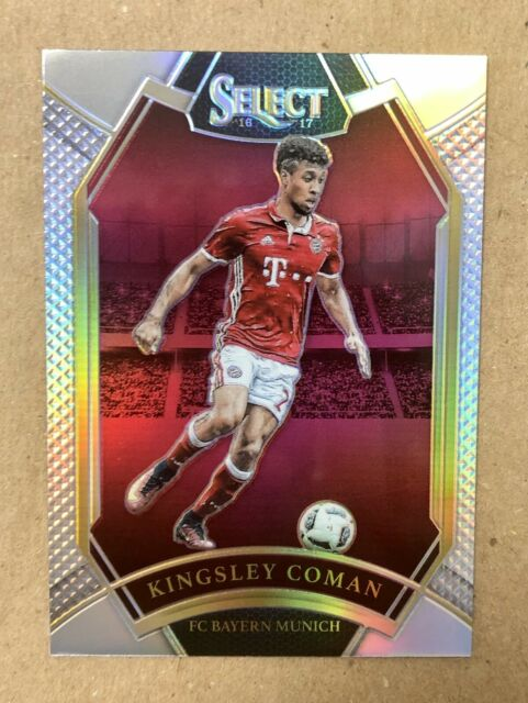 2016-17 Select Kingsley Coman Silver Prizm Rookie Bayern Munich