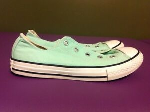 bd98dbf8b7da Converse All Star Mint Green Low-top Sneakers Youth Size 3 Unisex ...