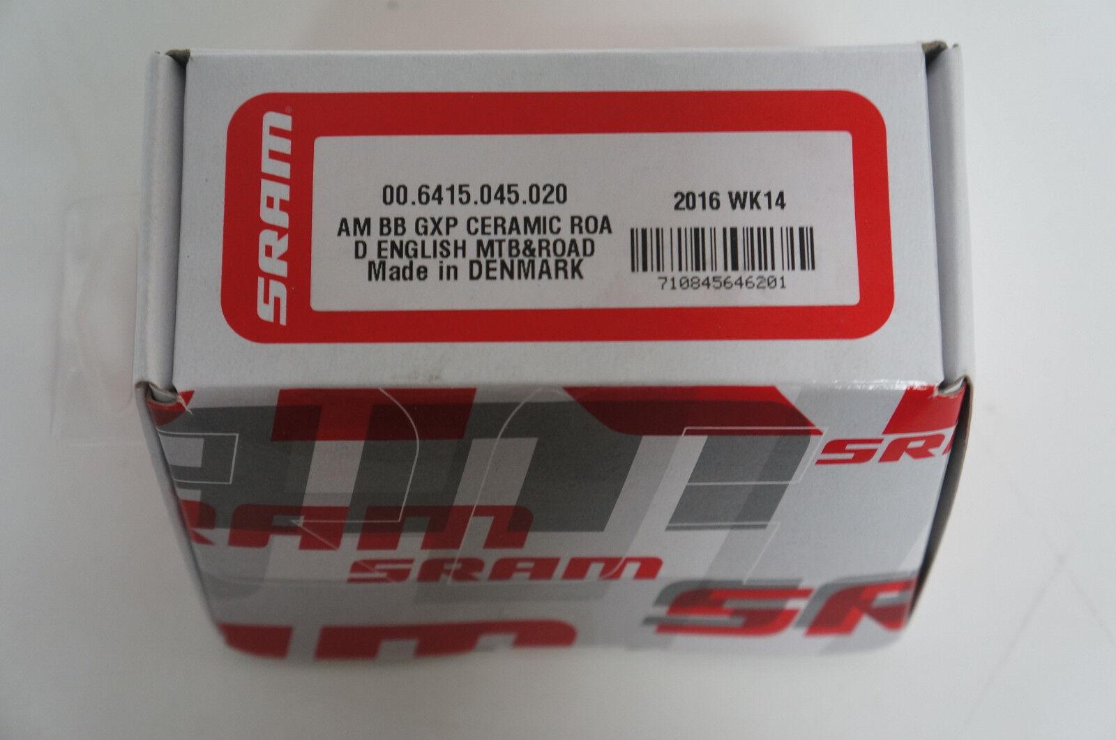 Truvativ GXP Cermaic Innenlager BSA red-black NEU