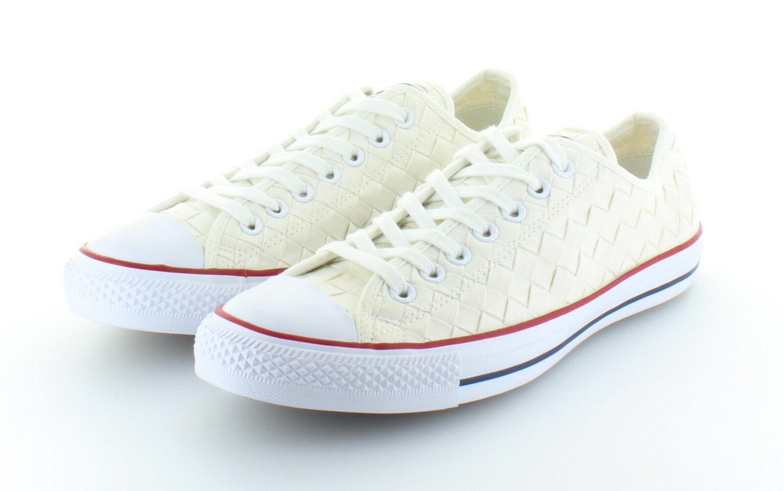 Los zapatos más populares para hombres y mujeres Converse Chuck Taylor as Ox textile woven White 42,5/43,5 us 9