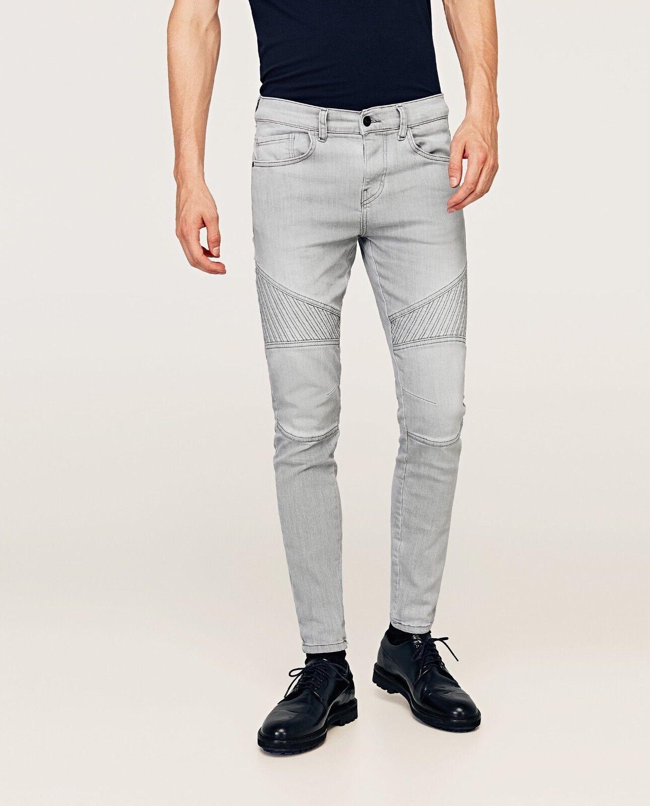 ZARA biker jeans Stretch Denim SOLD OUT EVERYWHERE