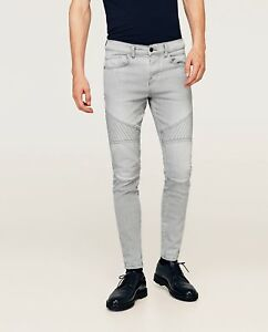Zara Stretch Sold Jeans Out Denim Everywhere Biker 6rq4wE6